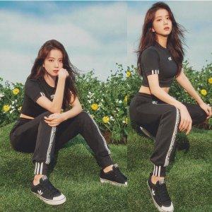 AdidasJisoo同款R.Y.V. 女裤多色选