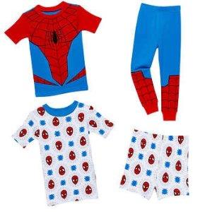 SPIDER-MAN截止到9/17小童蜘蛛侠睡衣4件套