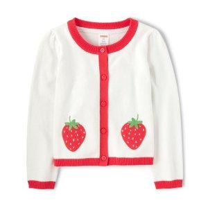 Gymboree草莓毛衣