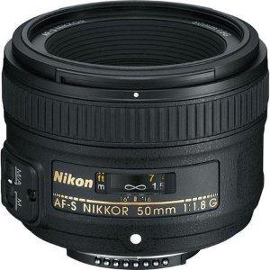 Nikon 50mm f/1.8G AF-S NIKKOR Lens Refurbished