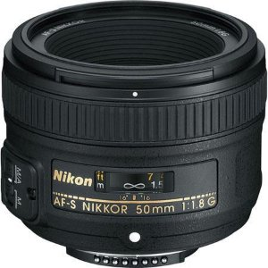 $166.95尼康 50mm f/1.8G 定焦单反数码相机镜头 翻新