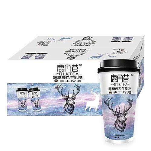 鹿角巷 黑糖鹿丸牛乳茶 123g (20 Cups)