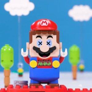 预定中 新到15个扩展包新品上市:Lego 乐高超级玛丽合作款 冒险入门套装71360 8月1日上市