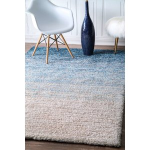 HouzzTufted Ombre Shag Area Rug - Contemporary - Area Rugs - by nuLOOM