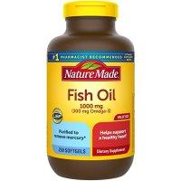 Nature Made 鱼油 1000 mg, 250粒软胶囊