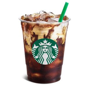 仅限8月9日下午2点后限今天:Starbucks 星巴克 任意大杯及以上冷萃咖啡半价