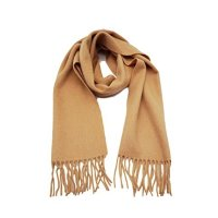 State Cashmere 驼色围巾