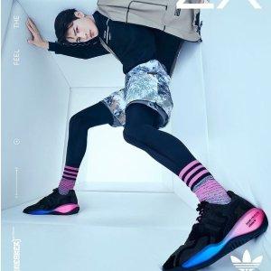 低至5折起 全场低至£49起adidas ZX系列复古风跑鞋好价 超舒适跑鞋又酷又有型