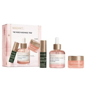 BIOSSANCE$93 ValueThe Rose Radiance Trio