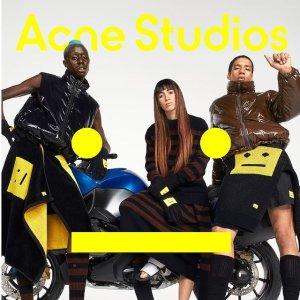 定价优势 新款帆布包有货Acne Studios 新款开卖,新款笑脸T恤$177,羊毛帽$140起