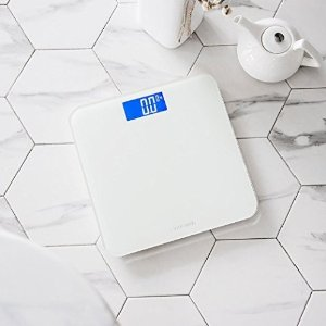 $15Innotech Digital Bathroom Scale with Easy-to-Read Backlit LCD