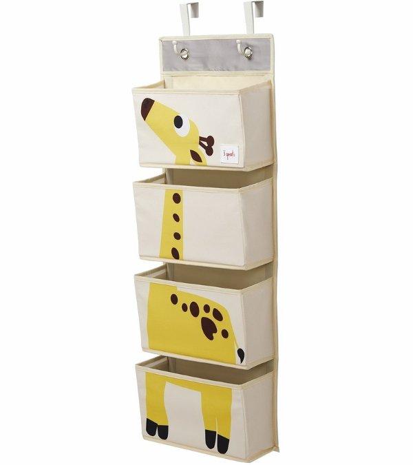 长颈鹿墙挂收纳盒