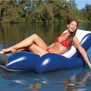$27.13收Intex 充气式水上漂浮沙发床 夏日玩水必备