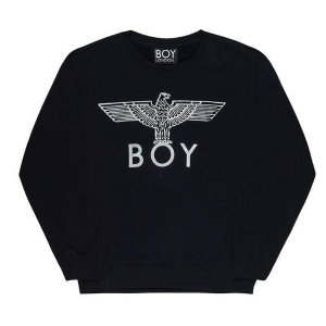 Boy London经典款!晒货同款!黑色logo卫衣