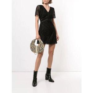 Twinsetcrocheted lace mini dress