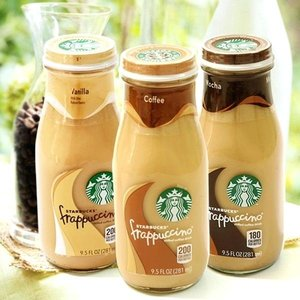 514be4618cbb Starbucks Frappuccino Coffee 9.5 Ounce Glass Bottles 15 Count $15.19 ...
