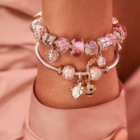 $13.99起 打造属于自己独特的潘多拉独家:Rue La La 潘多拉串珠、手镯、戒指 等饰品热卖
