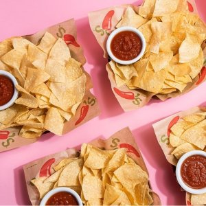 FREE Chips & Salsa EVERY visitChili's Grill & Bar Rewards Members Exclusive Benefit