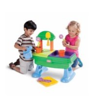 Little Tikes 儿童花园桌 喷水玩沙仿真玩具