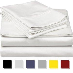 True Luxury 100% 埃及棉1000支床品4件套 多色可选