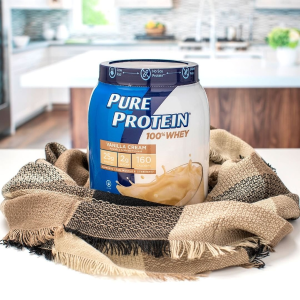 Pure Protein 香草霜味蛋白粉1.75磅促销 近期好价