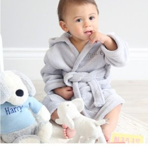 30% OffBaby's Hooded Fleece Robe @ My 1st Years