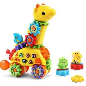 $8.54 畅销单品VTech GearZooz 旋转声光长颈鹿益智玩具