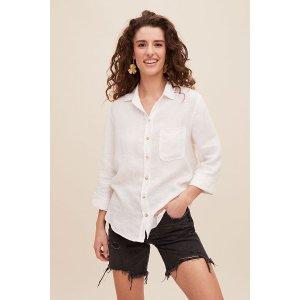Anthropologie白衬衫