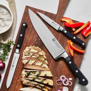 低至4.4折 刀具3件套仅€68Zwilling 双立人厨具大促 收焖煮铸铁锅、高品质刀具、不粘平底锅