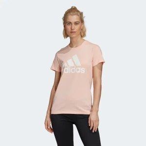 Adidas女款logo短袖