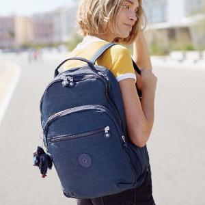 低至4.6折 现价€43.6(原价€95)史低价:Kipling SEOUL GO 双肩背包特价 20升大容量 轻便又实用