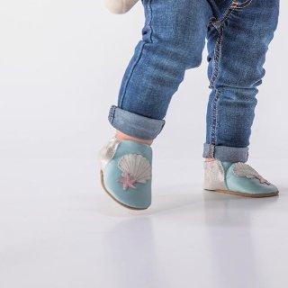 5折起Robeez  婴儿服饰鞋履促销 接近光脚感,适合学走路