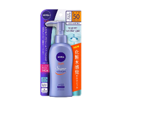 Amazon.com : Nivea Sun Protect Super Water Gel SPF 50/PA+++ (Face & Body)Pump Type 140 g (Japan Import) : Beauty