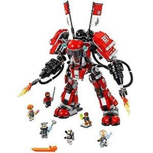 $44.99 (原价$69.99)+包邮史低价:LEGO 乐高幻影忍者大电影--超级爆炎机甲 70615