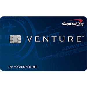 Earn 50,000 bonus milesCapital One® Venture® Rewards Credit Card