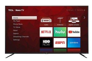 TCL 75S425 75 Inch 4K UHD Smart Roku TV