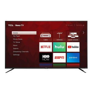 TCL 75S425 75 Inch 4K UHD Smart Roku TV
