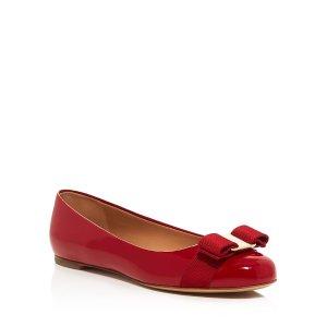 Vera 蝴蝶结平底鞋