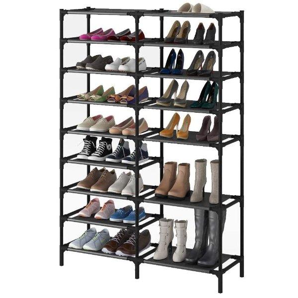 SHOWIN 9层防水鞋架 可收纳40双鞋