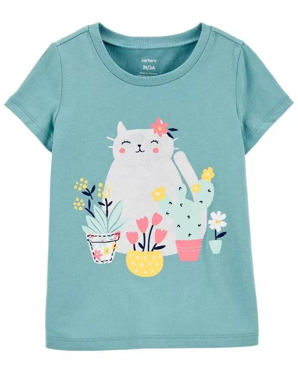 小童猫咪T恤