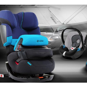 原价259欧 折后仅售169欧 不带isoCYBEX Silver 2-in-1 2合1儿童汽车座椅 1/2/3组 特价6折 36kg 9个月到12岁适用