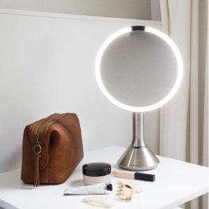 低至7.3折 £87入迷你感应化妆镜SImplehuman 硬核化妆镜 折扣热促