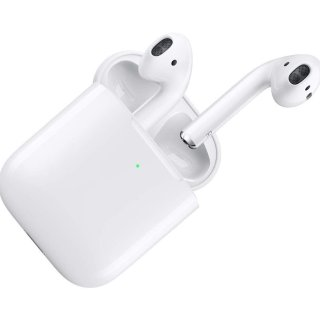 无线充电 $169 有线充电$144Apple AirPods 第二代最新版本 无线充电版再降