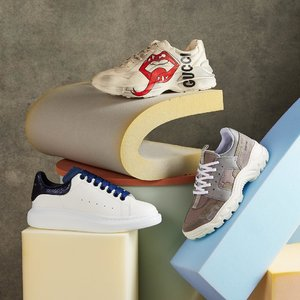4折起 Gucci小白鞋上新+码全最后几小时:SSENSE Sneaker专场 麦昆、Y-3、小脏鞋等你pick