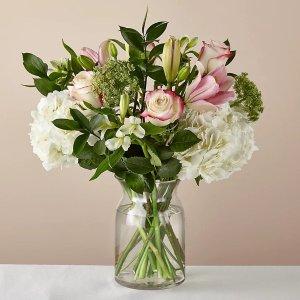 鲜花+花瓶