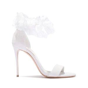 Casadei花朵高跟凉鞋