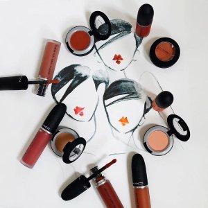 满$65送正装口红MAC Cosmetics 全场美妆热卖 收子弹头口红、尤雾唇釉