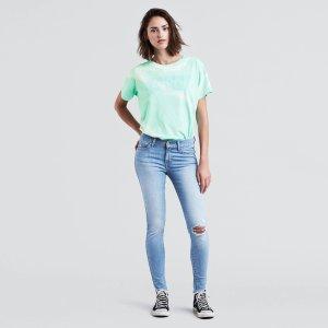 Levi's710 Super Skinny牛仔裤