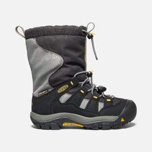 Keen小童防水雪地靴