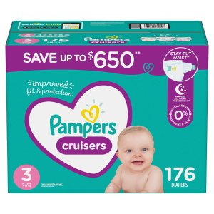 $10 off when you buy 2Pampers, Huggies and More Diapers Sale